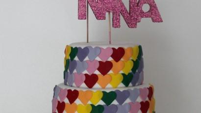 Pastís aniversari Nina
